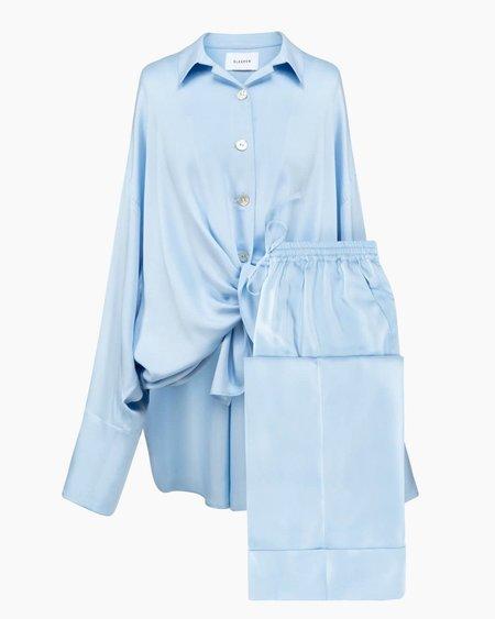 Sleeper Sizeless Viscose Pajama Set - Blue