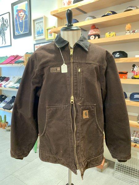 Vintage Carhartt 00s Chore Coat - Brown