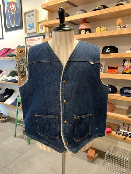 Vintage Carhartt 70-80s Denim Vest - Blue