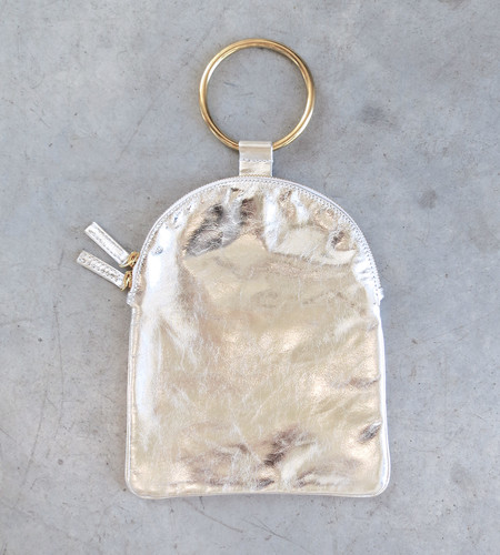 Otaat/Myers Large Ring Pouch in Silver