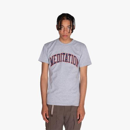 Powers Meditation T-shirt - Gray