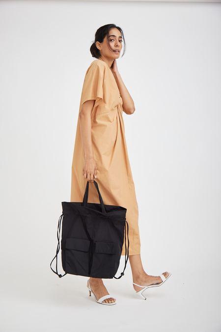 OAD Drawstring Backpack - True Black