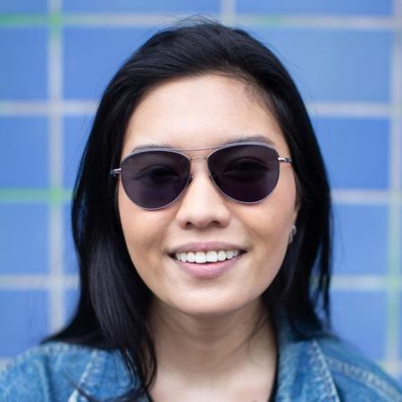unisex Taylor Morris Clarendon Sunglasses - Blue