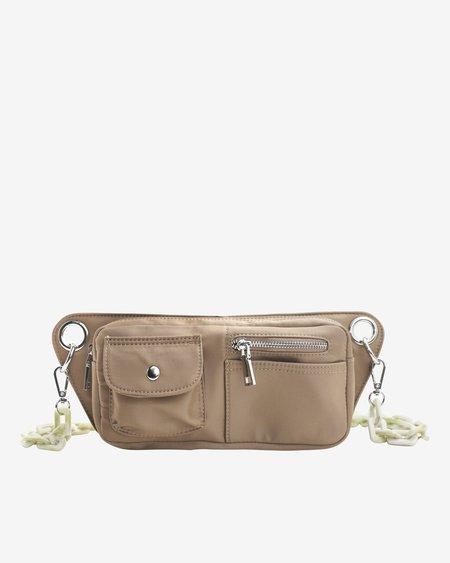Hvisk Brillay Nylon Recycled Bag - Brownish