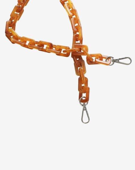 Hvisk Chunky Chain Handle - Tawny Brown