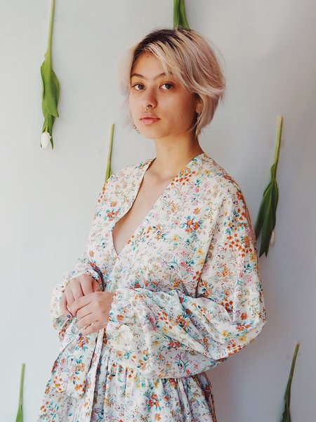 m e ç l â Posey dress - Bloom