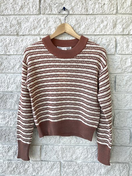 Veronica Beard Bisa Sweater - Mauve Multi