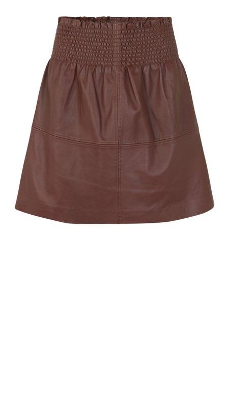 Munthe Pedal Skirt - Burgundy