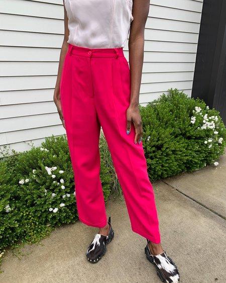 Vintage Fuschia Trousers - pink