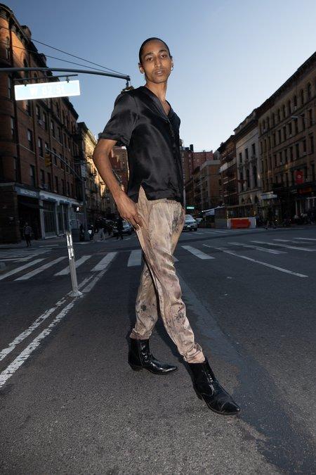 KES Silk Wave Sweat Pants - Organic Raindrop