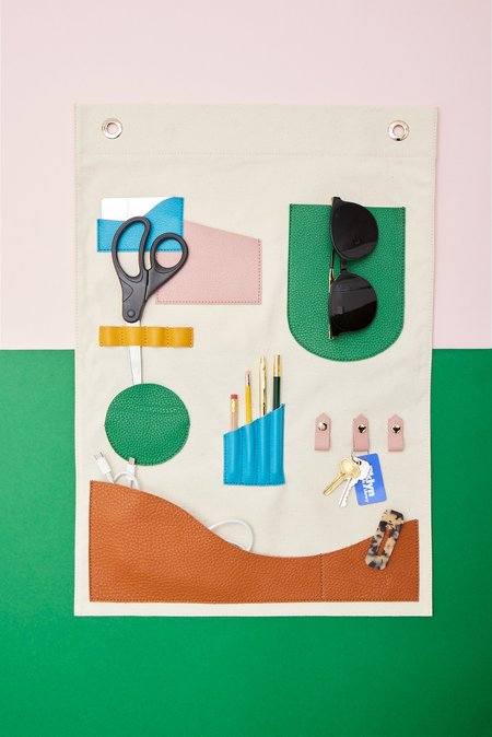 OAD Wall Hanging Pocket Art - Colors