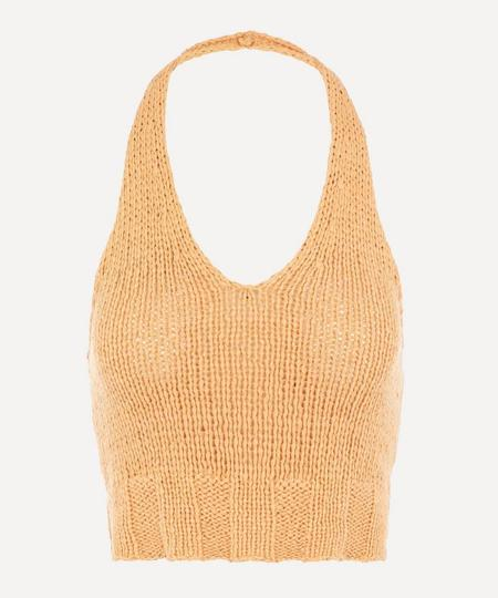 Paloma Wool Bien Knit Top - Peach