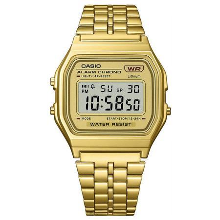 G-Shock Vintage Collection Digital Five-Link Bracelet Watch - Gold