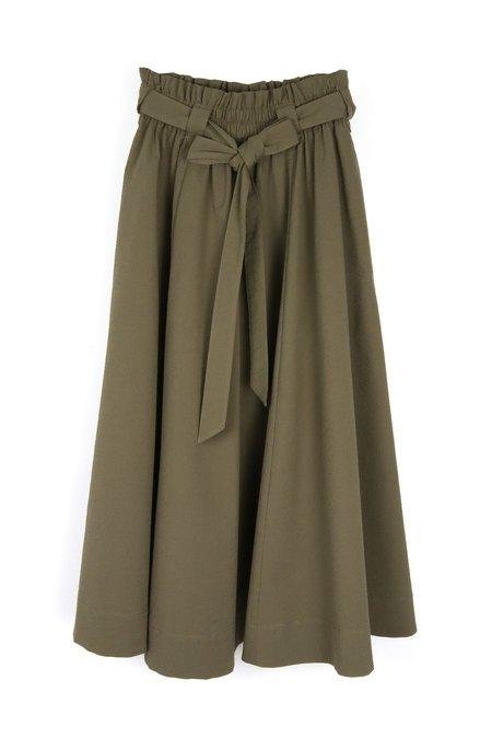 amannna Belted Safari Skirt - Army