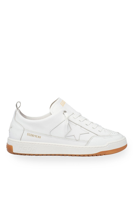 Golden Goose Yeah Leather Upper and Star sneakers - Optic White