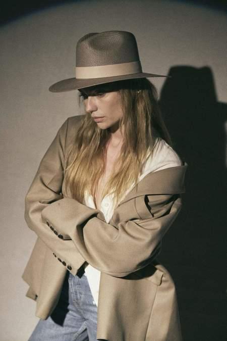 Janessa Leone Meadow Hat - Gray