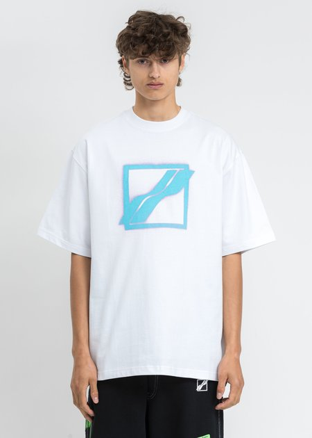 We11done Big Logo Printing T-Shirt - White