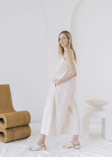LAUDE the Label Laurel Jumper - White/Beige