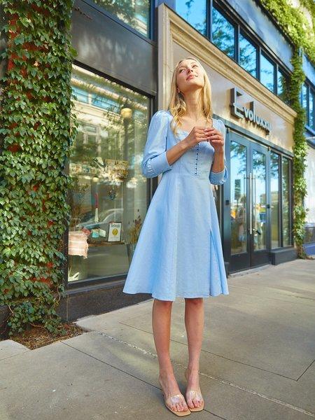 Sympathique Milla Dress - Blue