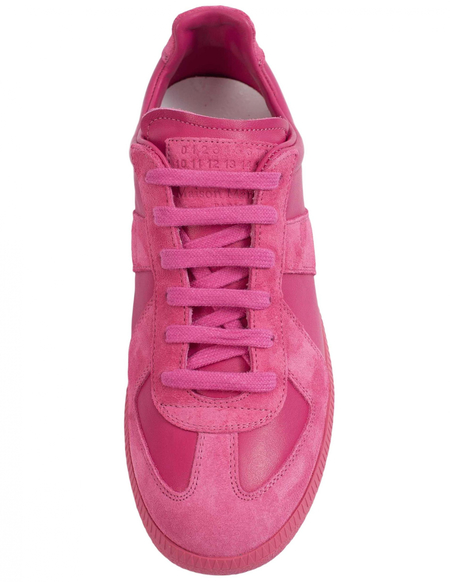 Maison Margiela Leather Replica Sneakers - pink