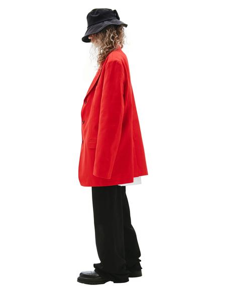 Raf Simons Oversize Jacket - Red