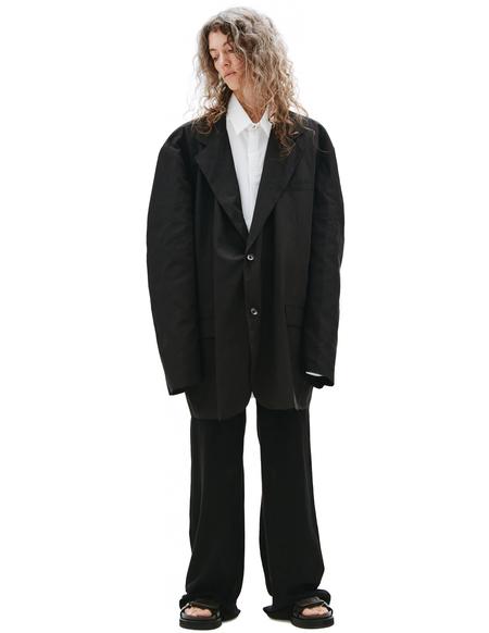 Raf Simons Oversize Jacket - Black