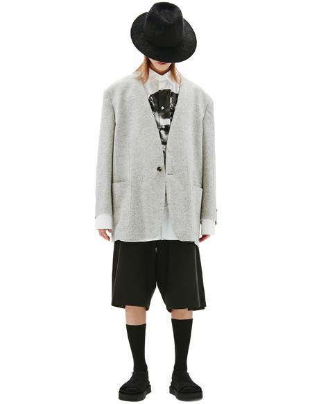 Fear of God Grey Wool Jacket
