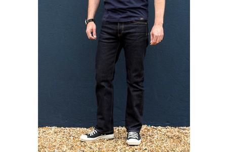 Iron Heart 14oz Selvedge Denim Slim Straight Cut Jeans - Indigo
