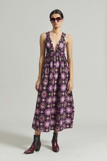 Rachel Comey Camisiam Dress - Black Multi