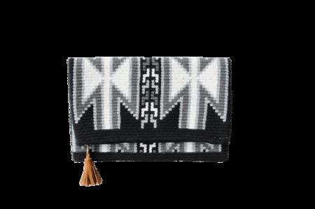 Shop Mariya Aztec Foldover Clutch