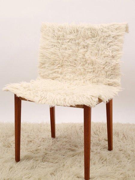 Erin Templeton Sheepskin Mat - Cream