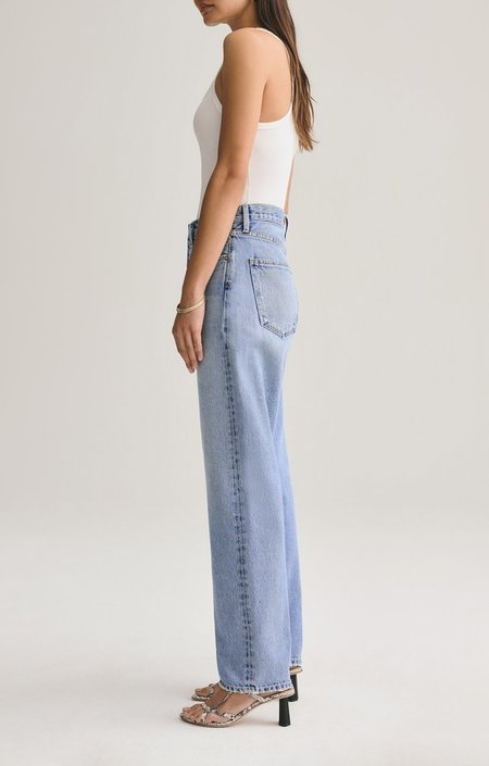 Agolde 90's Mid Rise Loose Fit Jeans - Snapshot