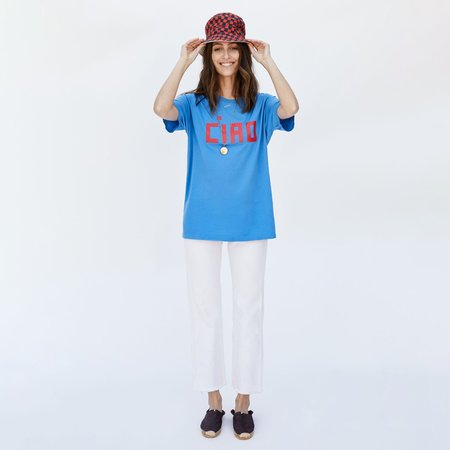 Clare V. Ciao Camp Fit Tee