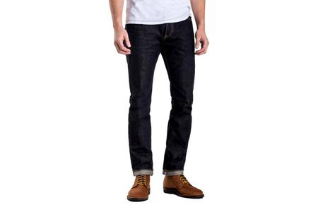 Iron Heart 14oz Selvedge Denim Super Slim Cut Jeans - Indigo