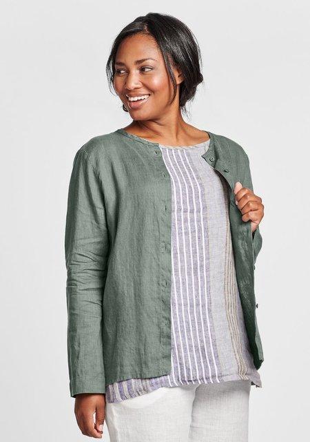 Flax Dis-cover-Linen Button Down Shirt