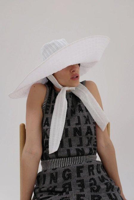 Beklina Voluminoso Hat - White