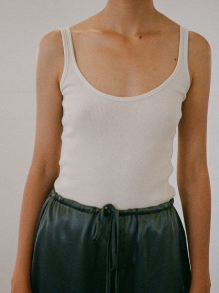 By Signe Organic Cotton Top - Off White