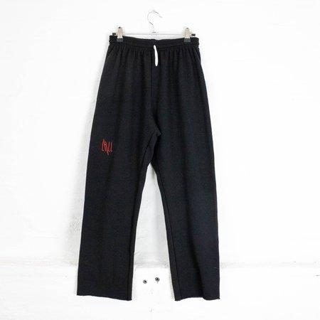 little high, little low LHLL CROPS pants - black