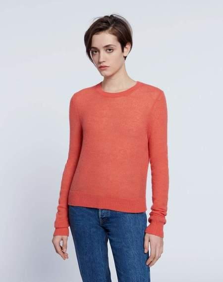 RE/DONE Shrunken Sweater - Apricot Sorbet
