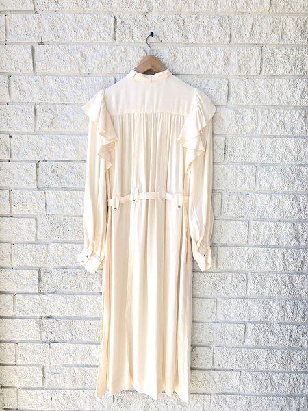 Ulla Johnson DOROTHEA DRESS - BLANC
