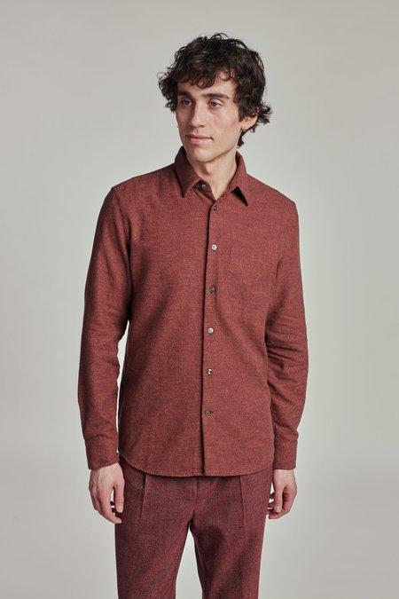 The Bordeaux Feel Good Shirt - Brown
