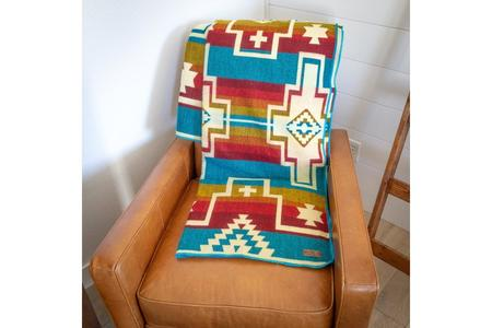 Andean Alpaca Wool Blanket - Santa Fe