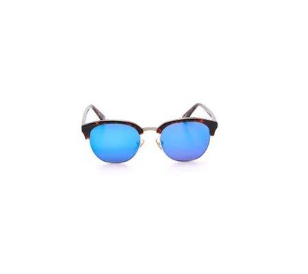 Unisex SUNDAY, SOMEWHERE Kendall Sunglasses - Dark Choc Tortoise