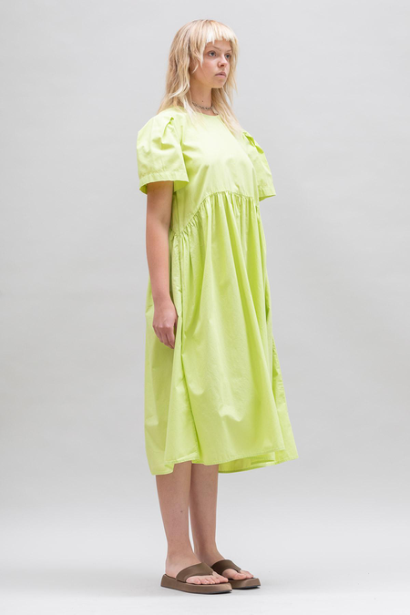 Toit Volant Spring Garden 2.0 Dress - Lime