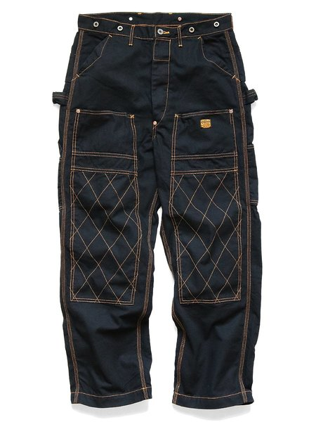 Kapital Light Canvas Lumber Pants - Black