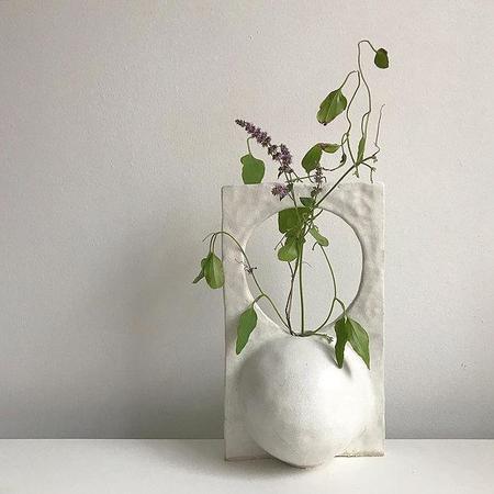 Soft Skills Santi Vessel vase - white