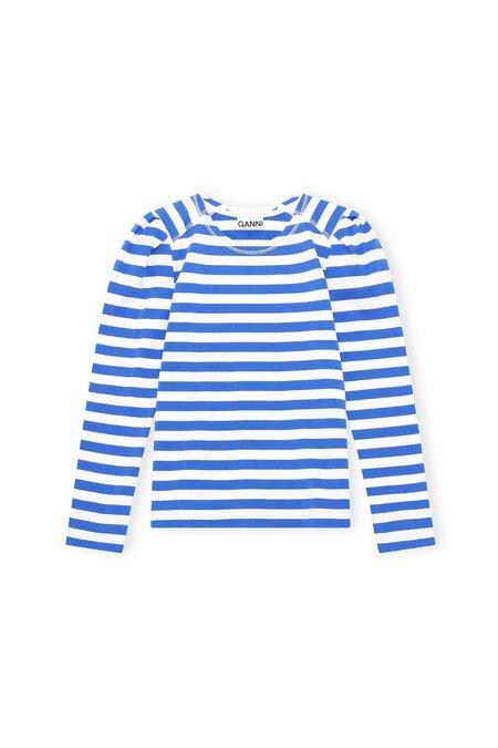 Ganni Cotton Top - Stripe