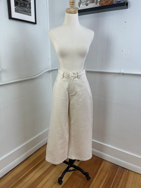 [Pre-loved] Whimsy + Row Flora Pant - White
