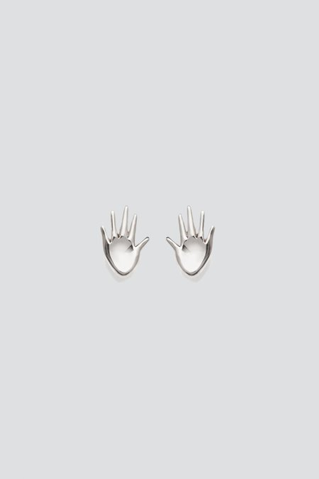 AGMES Mini Dalí Studs - Sterling Silver