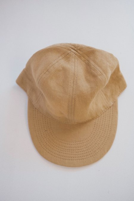 Blluemade Linen Ball Cap - Vintage Khaki